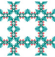 seamless pattern colorful vector image vector image