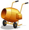 Cement Mixer vector image vector image