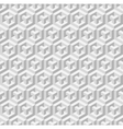 Cubic seamless pattern vector image