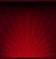 dark red sunburst paper vector image vector image