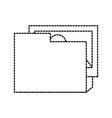 folder picture file digital app online vector image