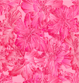 Seamless texture rhododendron pink flower vector image vector image