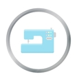 Sewing machine icon of for web vector image vector image