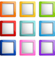 Square buttons vector | Price: 1 Credit (USD $1)