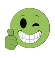 emoji instant messaging icon imag vector image