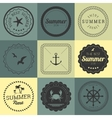 Collection of design elements vector image
