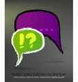 colored drawing Chat Box vector image