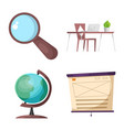 design of education and learning icon vector image vector image