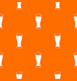 glass of beer pattern seamless vector image vector image