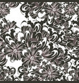 seamless flower pattern for greeting card vector image