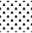 spade symbol plying card pattern vector image