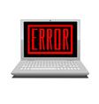 system error vector image vector image