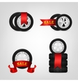 Vecor Tire Collection vector image