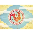 Chinese New year symbol Rooster vector image vector image