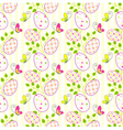 Colorful easter holiday seamless pattern backgroun vector | Price: 1 Credit (USD $1)