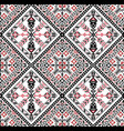 hungarian pixel pattern for cross-stitch vector image vector image