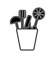 ladles vector image vector image
