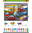 math task for kids vector image vector image