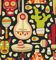 Mexico Seamless Pattern vector image vector image