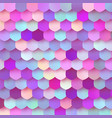 pastel colorful papercut mosaic trendy design bg vector image vector image