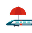 travel insurance vector image