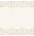 Wedding invitation or greeting card vector image