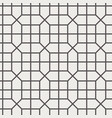 chinese screen seamless pattern simple black white vector image
