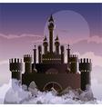 dark castle vector image