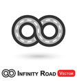 Infinity Road vector image