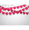 Love party celebration background vector image vector image