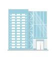 modern glass building vector image
