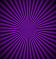 Purple radial rays abstract background vector image vector image