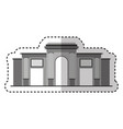 rome coliseum isolated icon vector image
