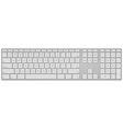 Standard US Keyboard vector image