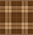 brown tartan plaid scottish pattern vector image vector image