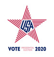 election voting poster print t-shirt vector image vector image