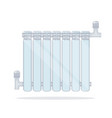 heating radiator vector image