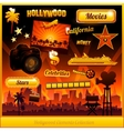 Hollywood cinema movie elements vector | Price: 3 Credits (USD $3)