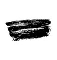 ink brush stroke grunge hand painted vector image vector image