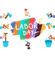 labor day 1 may vector image