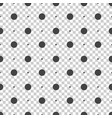 Seamless dots pattern seamless on isolated vector image