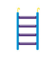 bird ladder accessory icon in flat style vector image