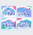 business meeting and brainstorming concept on vector image vector image