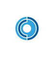 c letter core icon vector image