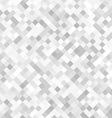 Checkered grey pattern vector image vector image