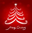 christmas tree5 vector image vector image