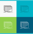 design layer layout texture textures icon over vector image vector image