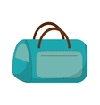 hand bag isolated icon vector image