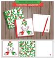 Merry Christmas printable set vector image vector image