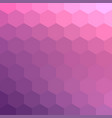 pastel pale pink mosaic backdrop for banner vector image vector image